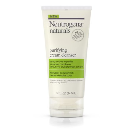 Neutrogena Naturals Purifying Daily Facial Cream Cleanser, 5 fl.
