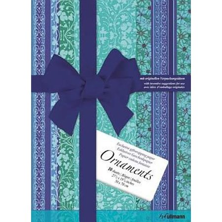 Ornaments Gift Wrap Paper: Ornaments