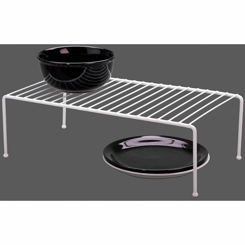 Panacea 40710 White Jumbo Vinyl Coated Wire Helper Shelf