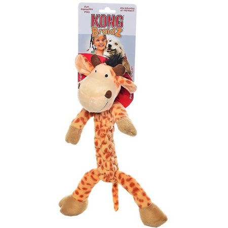 Kong Braidz Giraffe Dog Toy, Large