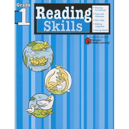 Reading Skills: Grade 1 (Flash Kids Harcourt Family