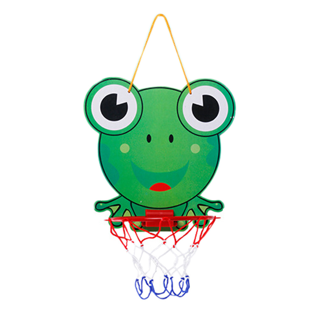 Mosunx Kids Toy Basketball Hoop Board Plastic Hoop Set With Indoor Hanging Hoops Game by
