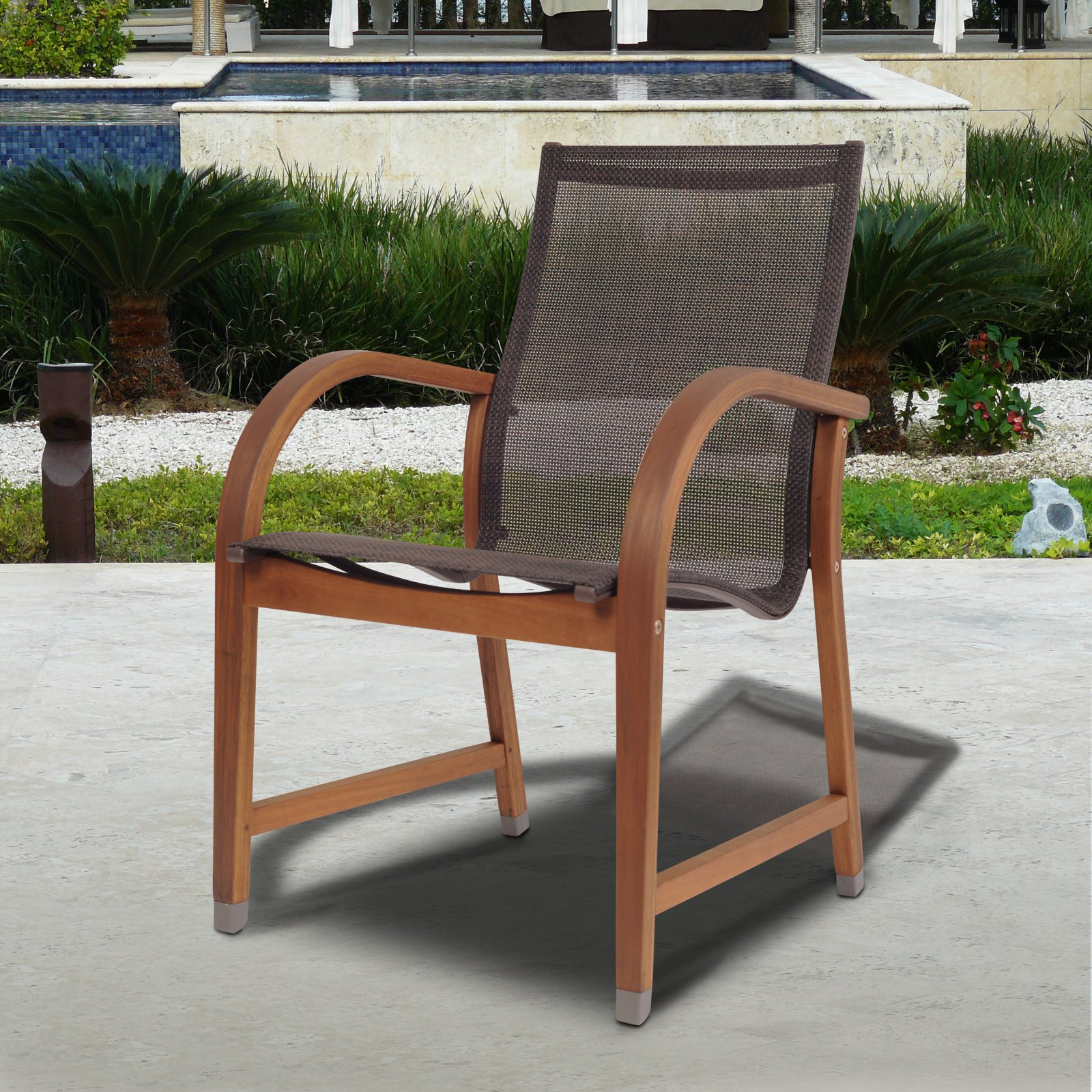 Amazonia Indiana 4 Piece Sling Chairs