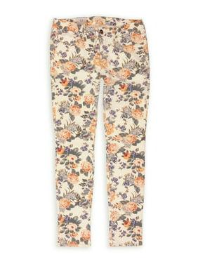 Bullhead Denim Co. Womens Printed Skinniest Skinny Fit Jeans, Multicoloured, 13