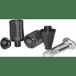 Vortex ks524 frame sliders blk gsx-r600/750/1000