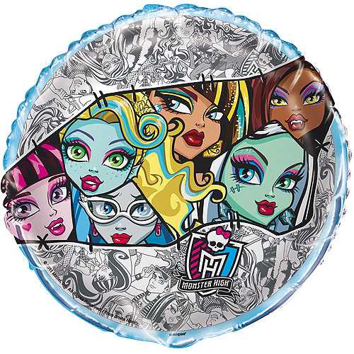 "18"" Foil Monster High Balloon"