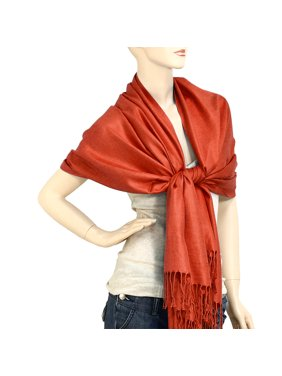 6ca11f51593d6 Product Image Falari Women's Solid Color Pashmina Shawl Wrap Scarf 80