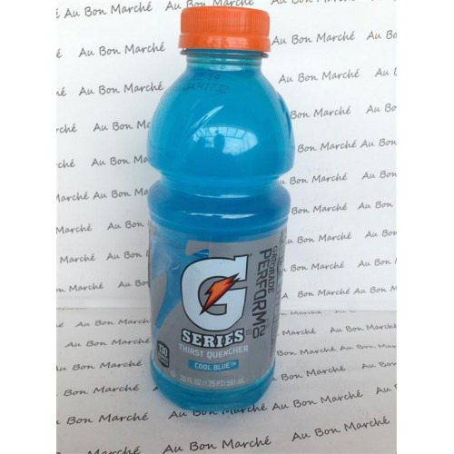 Gatorade Sports Drink, Cool Blue, 160 FL OZ (Pack of 3)