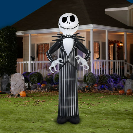Jack Skellington Giant Airblown Halloween Decoration - Halloween Skellington