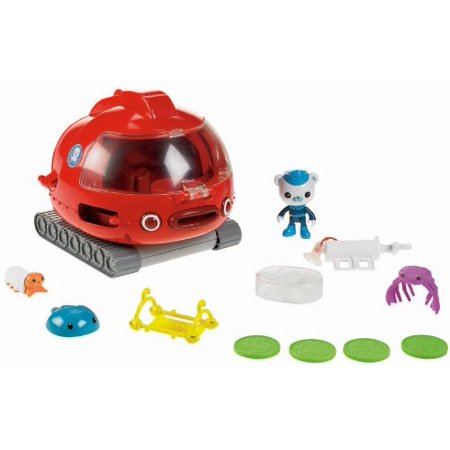 Fisher-Price Octonauts Launch and Rescue Gup X Vehicle - Barnacles Octonauts