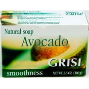 Grisi Natural Avocado Soap, 3.5 oz (Pack of 6)