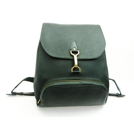 Cassiar 226458 Green Taiga Leather Backpack ()
