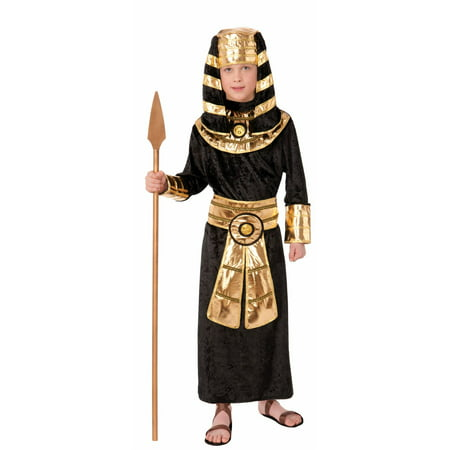 Homemade Historical Halloween Costumes (Pharaoh Child Costume)