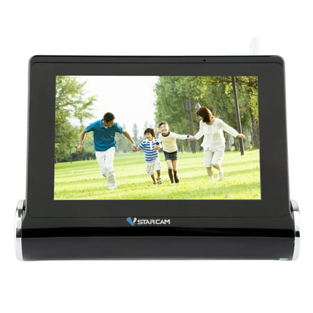 - 7 Inch tou ch screen Wir eless Smart HD Network Video Server Video Recorder With Capacitive Screen 1280x800