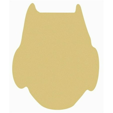 Owl Unfinished Cutout, Wooden Shape, Paintable Wooden MDF](Owl Cutouts)