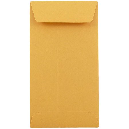 - #7 Coin / Cash / Small Parts Envelopes, Brown Kraft, 24 lb, 500/Box