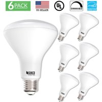 Sunco Lighting 6 Pack BR30 LED Light Bulb 11 Watt (65 Equivalent) 5000K Kelvin Daylight 850 Lumens, 25,000 Hours, Flood, Dimmable, Indoor / Outdoor, Home, Office And More - UL & ENERGY STAR LISTED
