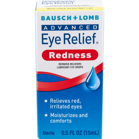 Bausch & Lomb Eye Relief Advanced Redness Eye Drops, 0.5 FL