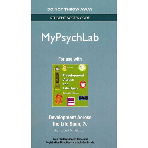 Development Across the Life Span Mypsychlab Access Code