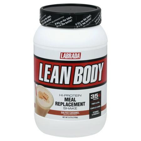 Lean Body MRP Tubs--Salted Caramel, 2.47lb