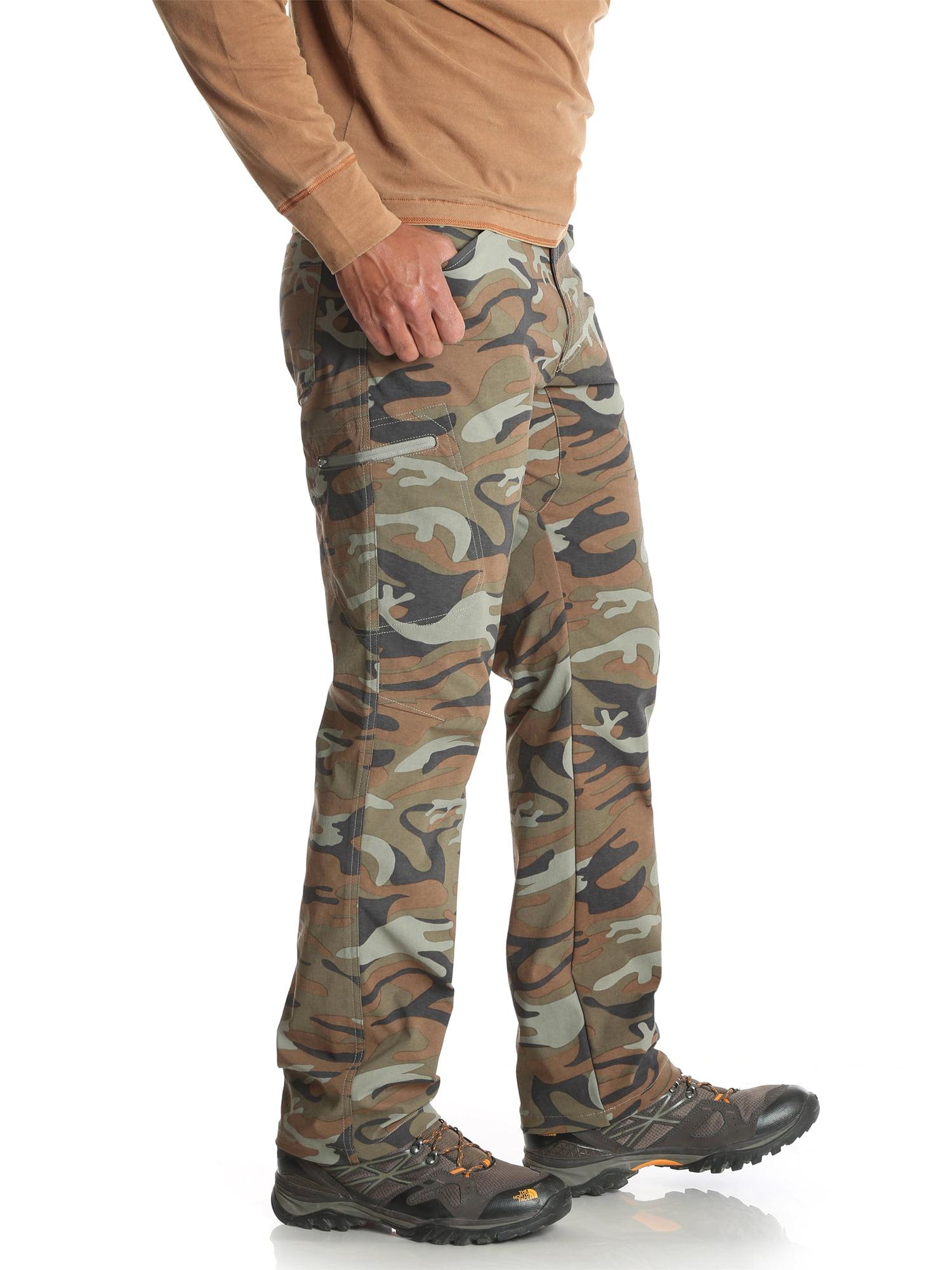 Wrangler Mens Outdoor Comfort Flex Cargo Pant Army Green, 34x30