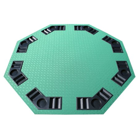 Green Suited Speed Felt Octagon Table Top (Felt Top Table)