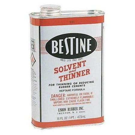 Best-Test Bestine Rubber Cement Thinner, Pint
