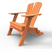 Folding Adirondack Chair by Malibu Outdoor - Hyannis, Tangerine