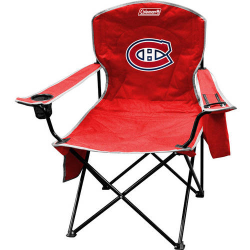 Coleman NHL Montreal Canadiens Cooler Quad Chair