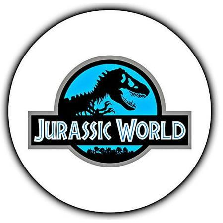 Jurassic World Dinosaur Edible Image Photo Cake Topper