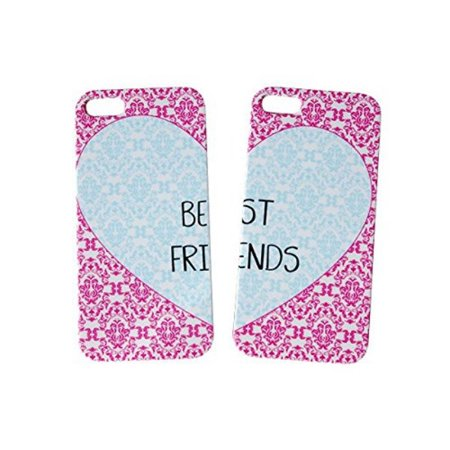 Set Of Heart Best Friends Phone Cover For The Iphone 6s Case For iCandy