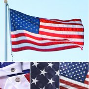 AGPtek American Flags 3' x 5'  USA Flag Embroidered Stars