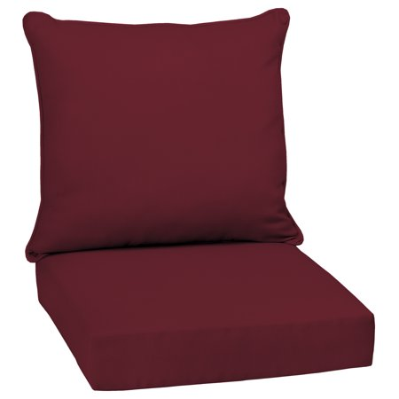 Arden Selections Caliente Canvas 46.5 x 24 in. Outdoor Deep Seat Cushion Set ()