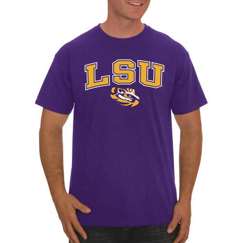 Russell NCAA LSU Tigers, Men's Classic Cotton T-Shirt