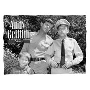 Andy Griffith Lawmen (Front Back Print) Poly 20X28 Pillow Case White One Size
