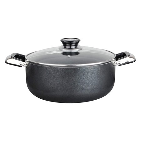 Aramco Alpine Gourmet Aluminum Non-Stick Coating Open Stock Dutch Oven, 18 quart, Silver/Gray - Gourmet Open Stock
