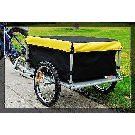 Bike Cargo Trailer   Yellow