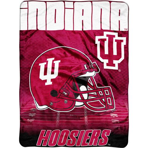 """NCAA Overtime 60"""" x 80"""" Blanket, Indiana"""