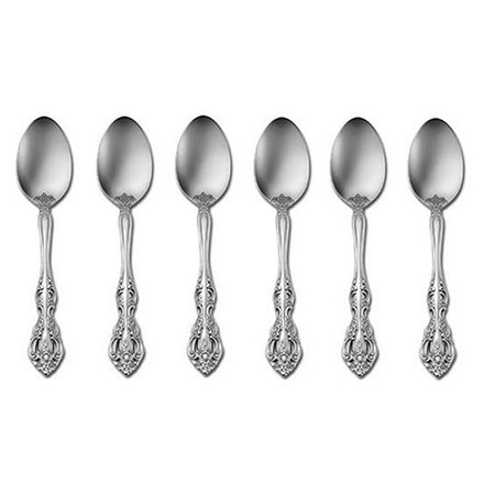 Oneida Michelangelo 18/10 Stainless Steel Teaspoon (Set of Six)