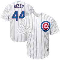 Anthony Rizzo #44 Chicago Cubs Majestic Big & Tall Cool Base Player Jersey - White