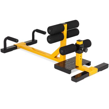 Gymax 3-in-1 Sissy Squat Push Up Ab Workout Home Gym Sit Up Machine