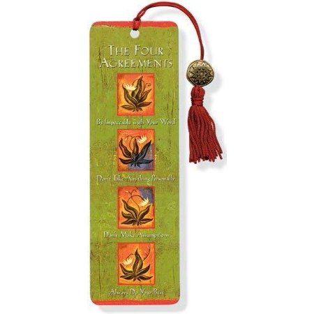 The Four Agreements Beaded Bookmark Original Other Books. The Four Agreements Beaded Bookmark.