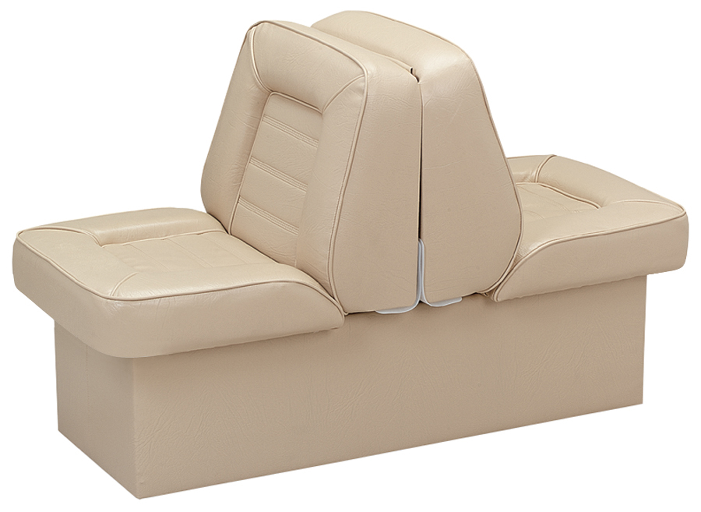 Wise 8WD505P-1-715 Bucket Style Back to Back Lounge Boat Seat