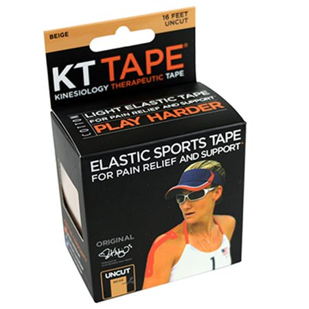 Fabrication Enterprises 25-3410 2 in. x 16 ft. KT Tape, Beige Classic (Classic 2 Current Fabrication)