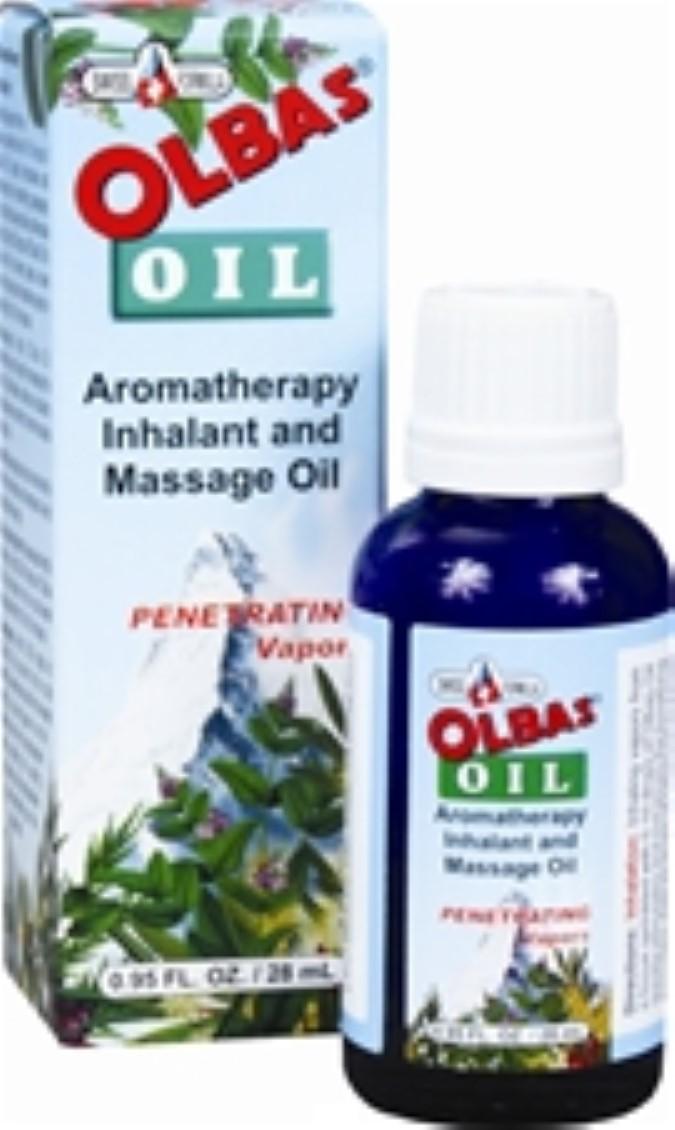 Olbas Aromatherapy Massage Oil