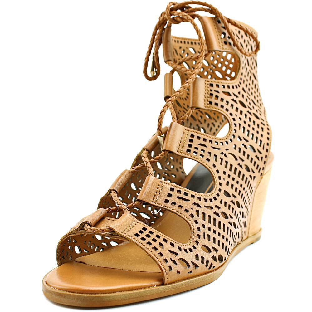 Dolce Vita Lamont Women  Open Toe Leather  Wedge Sandal