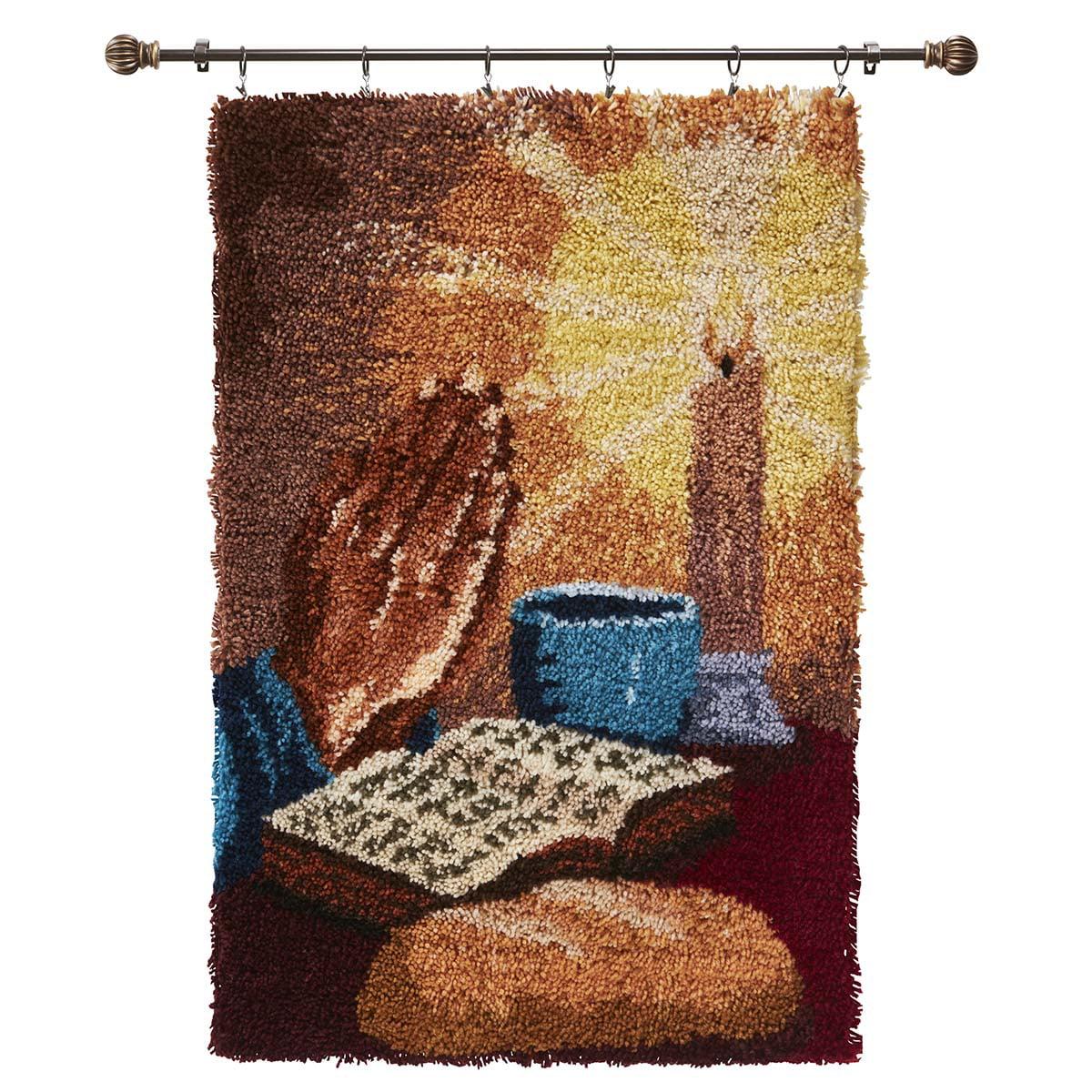 Herrschners® Praying Hands Latch Hook Kit