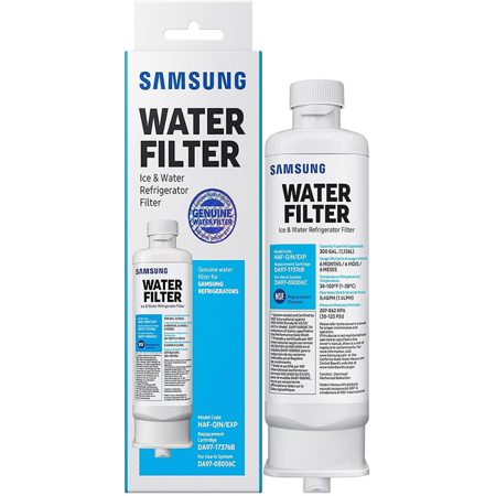 Samsung DA97-17376B HAF-QIN, Samsung DA9717376B HAF-QIN/EXP Refrigerator Water Filter RF23M8070SG, 1-Pack (Packaging May Vary)