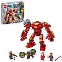 LEGO Marvel Avengers Iron Man Hulkbuster Versus A.I.M. Agent 76164 Superhero Building Toy with Minifigures (456 Pieces)