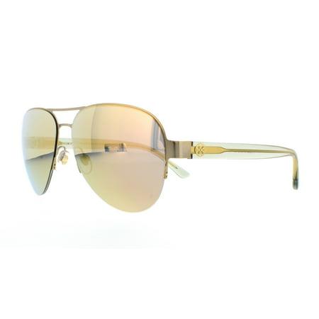 000ce21e75 Tory Burch - TORY BURCH Sunglasses TY6048 3146R5 Satin Gold Bottle Green  59MM - Walmart.com